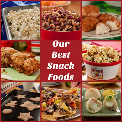 Our 14 best snack foods mrfood thats right its time to get your snack on weve compiled our 14 best snack foods thatll have you munchin and smilin all day long forumfinder Images