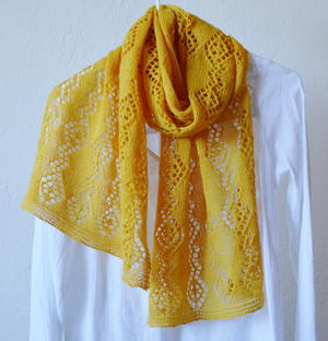 Lemon Lace Shawl Pattern