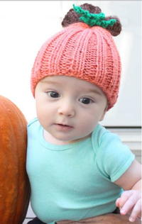 Beginner Pumpkin Baby Hat