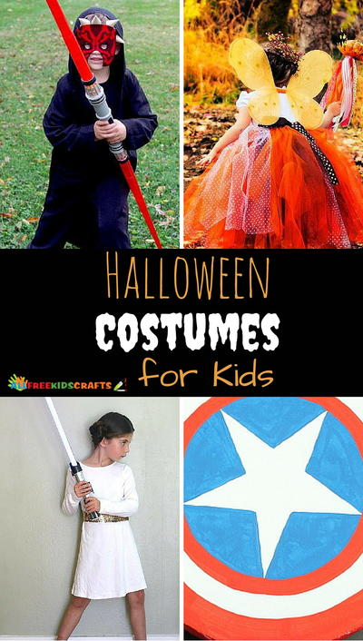 Kids DIY Halloween Costumes
