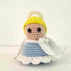 Serene Christmas Angel Amigurumi