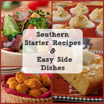 Southern cooking 12 starter recipes and easy side dishes mrfood its time for that down home southern cooking we know you all love with these 9 easy starter recipes and side dishes for the whole family forumfinder Image collections