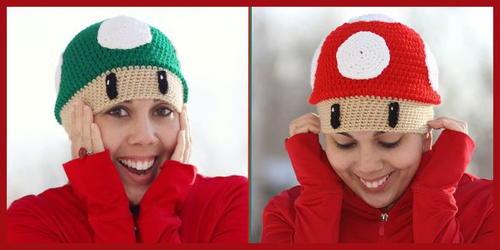 Mario Inspired Crochet Hat Pattern Allfreecrochet