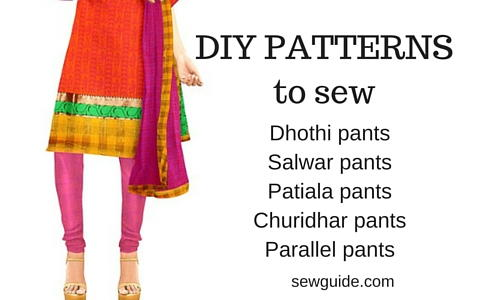 Salwar Kameez Pants Pattern   FaveCrafts.com