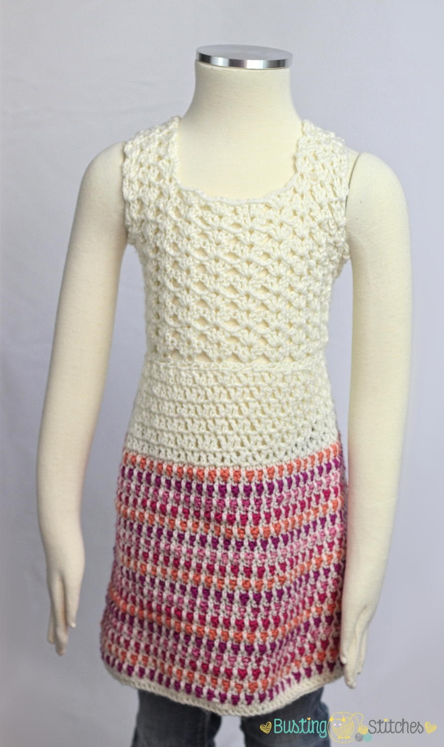Country Style Crochet Dress Pattern | FaveCrafts.com