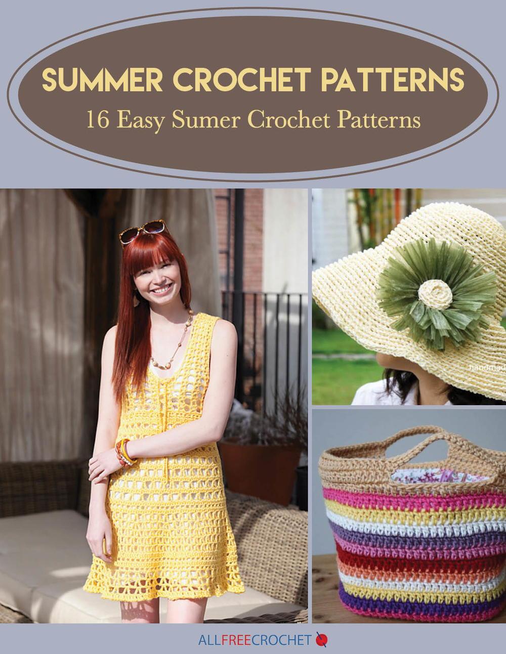 41 Crochet Summer Hat Patterns: Easy Crochet Hats | AllFreeCrochet.com