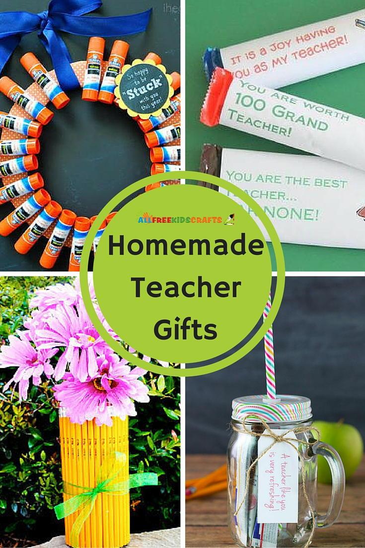 13 Homemade Teacher Gifts | AllFreeKidsCrafts.com