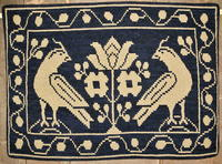 Rug Designs from Antique Coverlets