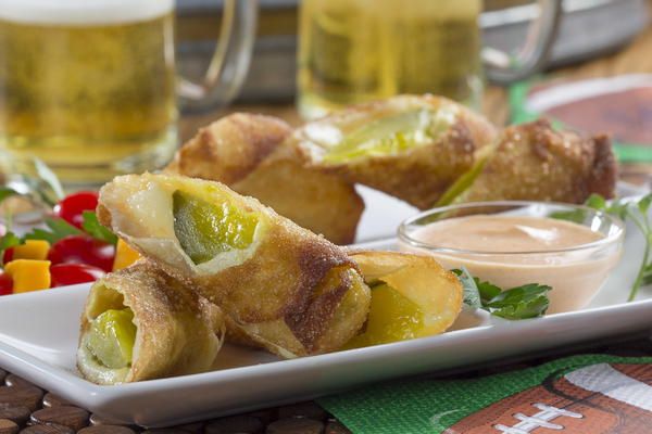 Fried Cheesy Pickles