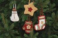 Primitive Holiday Ornaments