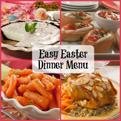 Easy easter dinner menu mrfood easter is a day to relax and spend quality time with your loved onest to be stressed out in the kitchen especially if youre planning to go all out forumfinder Images