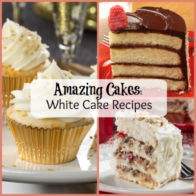 Amazing Cakes 5 White Cake Recipes MrFoodcom