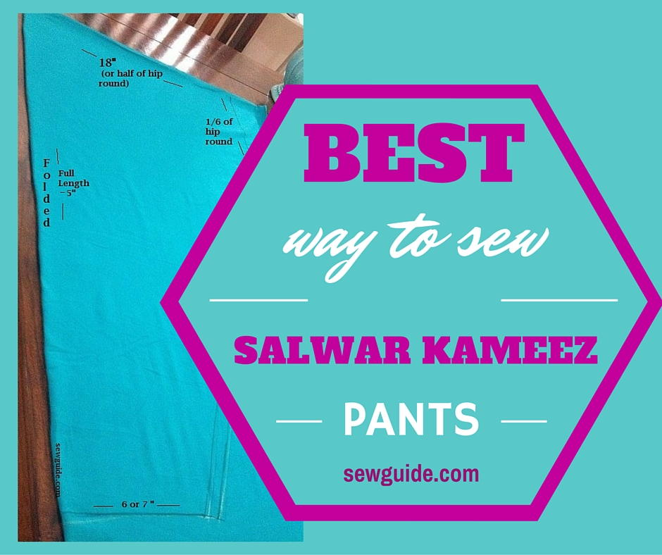 Instructions For Sewing Salwar Pants Allfreesewing