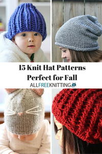 15 Knit Hat Patterns Perfect for Fall