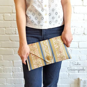 Table Runner DIY Clutch