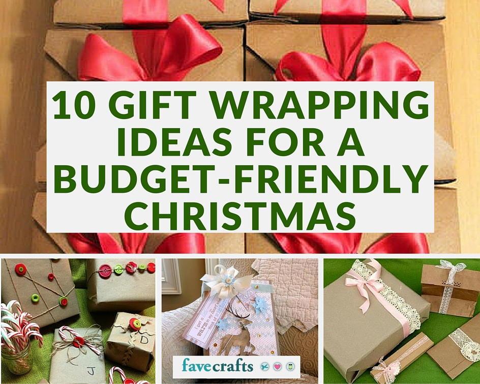 Christmas gift wrapping ideas homemade