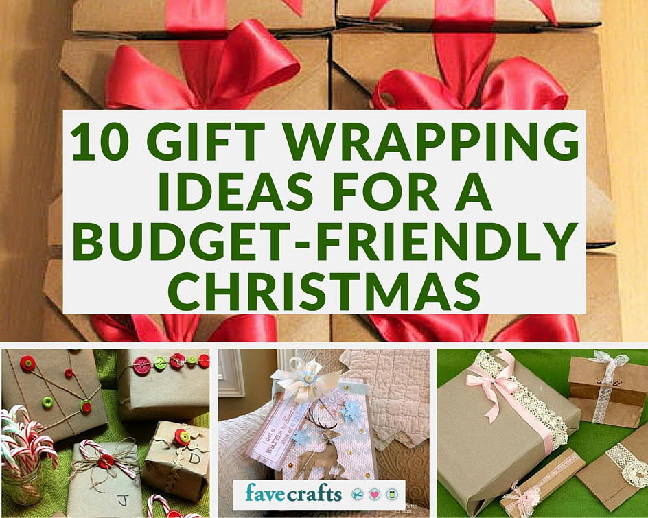 10 gift wrapping ideas for a budget friendly christmas favecraftscom
