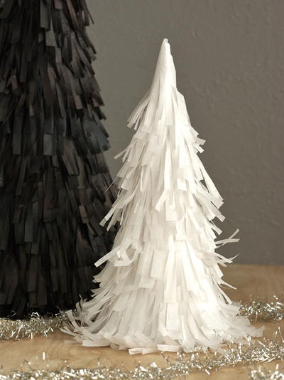 DIY Pinata Christmas Trees