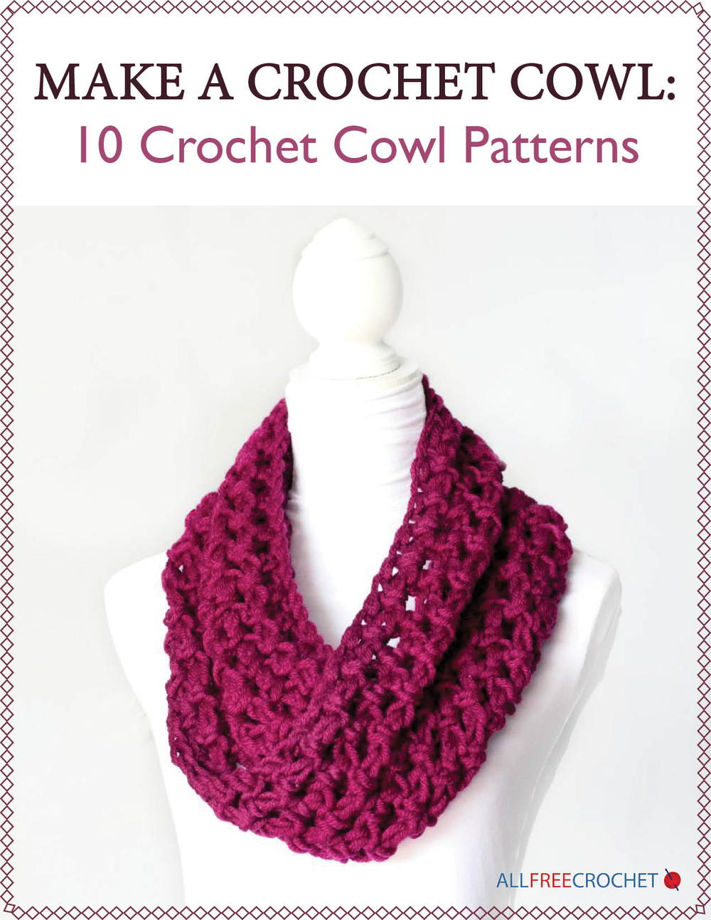 Make a crochet cowl 10 crochet cowl patterns allfreecrochet bankloansurffo Gallery