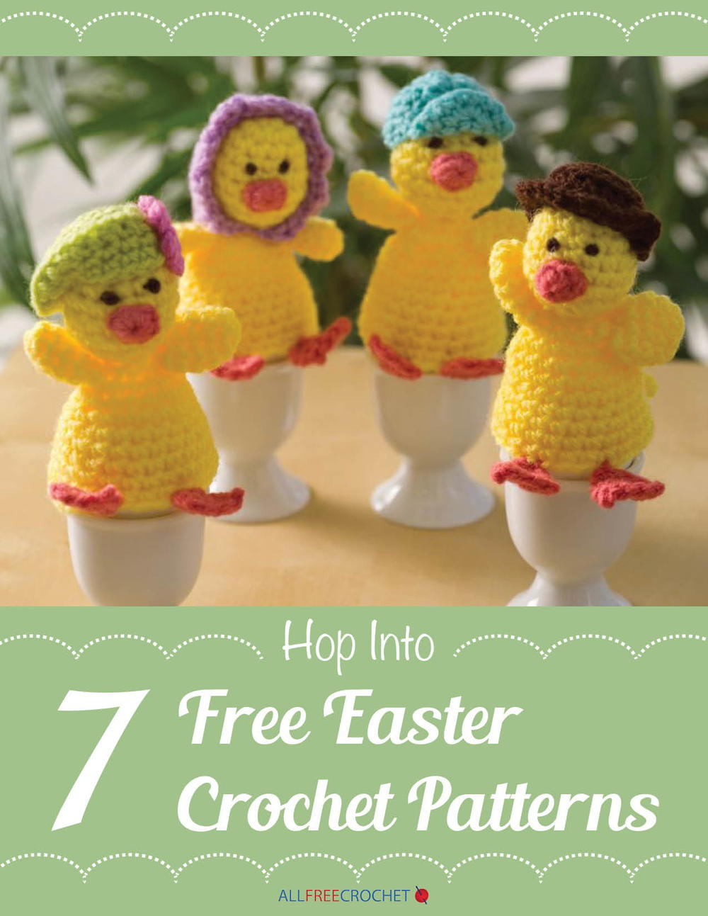 Hop into 7 Free Easter Crochet Patterns | AllFreeCrochet.com