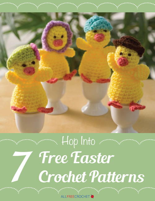 Hop Into 7 Free Easter Crochet Patterns Allfreecrochet