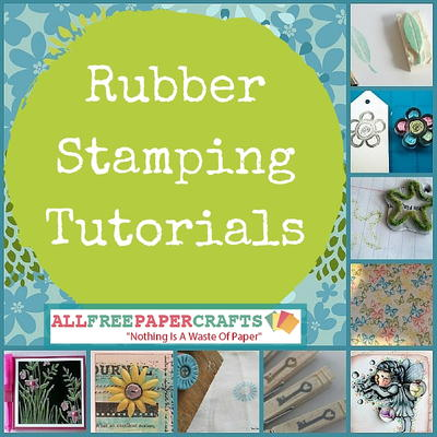 22 Rubber Stamping Tutorials How to Make a Rubber Stamp and Other Rubber Stamping Ideas