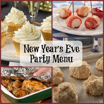 Easy New Year S Recipes Appetizers For New Year S Eve Mrfood Com