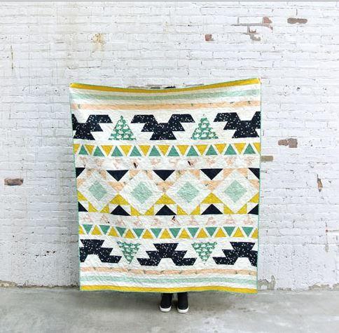 Weekend Warrior Quilt Pattern | FaveQuilts.com : quilt in a weekend - Adamdwight.com