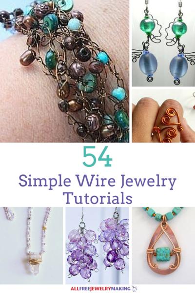 54 simple wire jewelry making tutorials allfreejewelrymaking com rh allfreejewelrymaking com Wired UK Wired Doorbell Installation