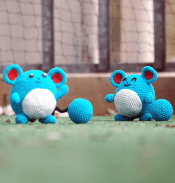 Marill Inspired Plushie Pattern Favecrafts