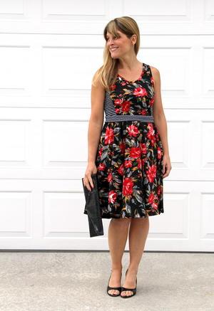 Easy Swing Dress Tutorial