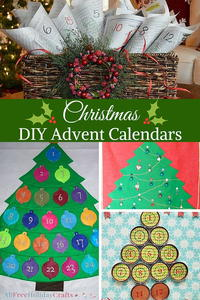 9 Christmas DIY Advent Calendars