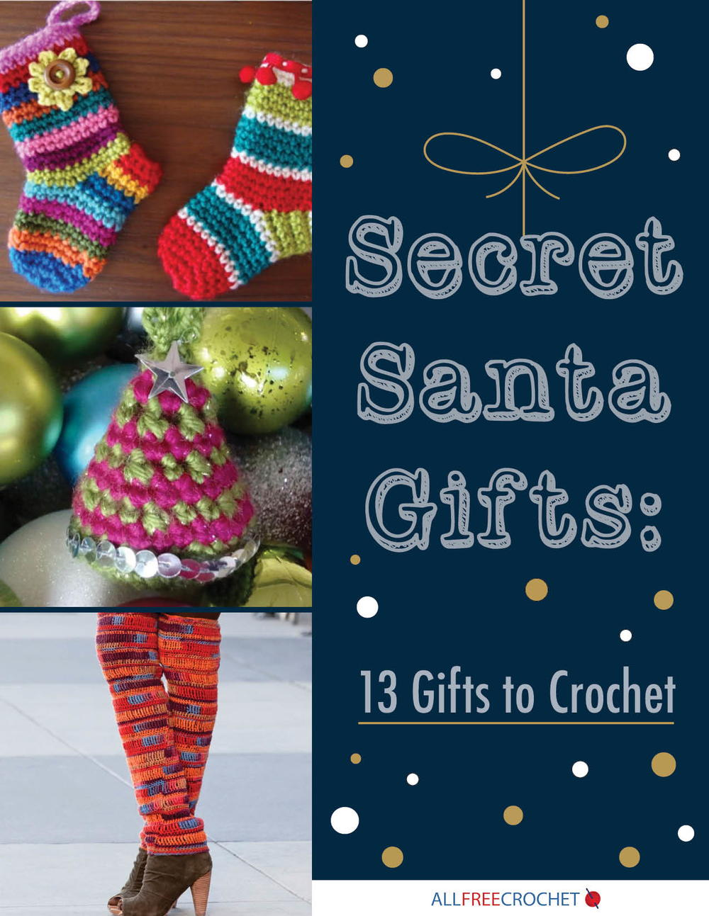 Secret Santa Gifts: 13 Gifts to Crochet   AllFreeCrochet.com