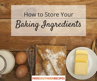 How to Store Your Baking Ingredients