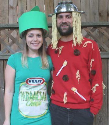 Spaghetti And Parmesan Couples Costume Idea