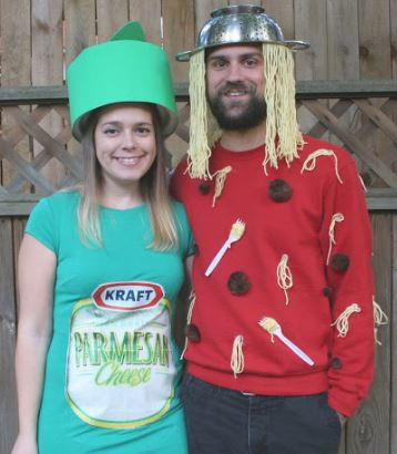 Spaghetti and Parmesan Couples Costume Idea  sc 1 st  AllFreeHolidayCrafts : couples halloween costumes idea  - Germanpascual.Com