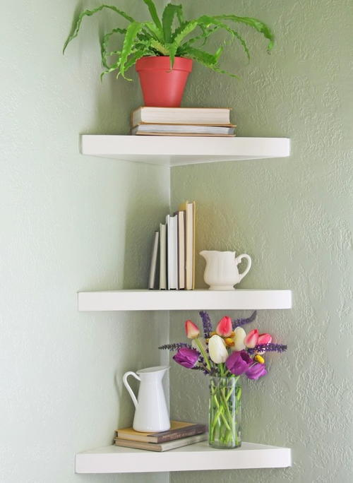 Elegant Floating DIY Shelves