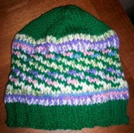 Mossy Meadow Knit Hat Pattern Allfreeknitting