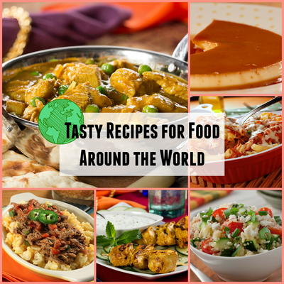 Tasty recipes for food around the world mrfood put away your passport and come join us as we take you on a culinary tour of some tasty international dishes thats right were adding great tasting food forumfinder Images