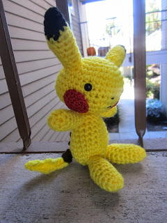 Playful Pikachu-Inspired Amigurumi