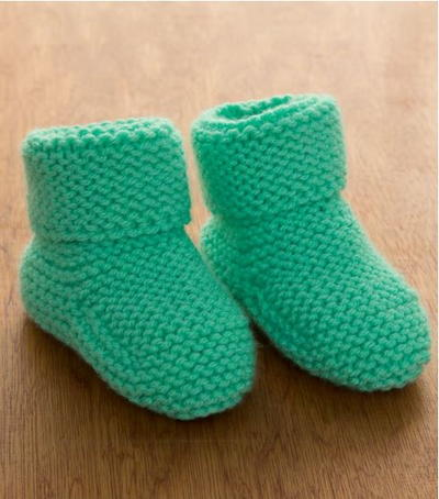 60 Free Baby Knitting Patterns AllFreeKnitting Inspiration Free Baby Booties Knitting Pattern