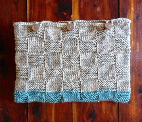 Laptop Sleeve Basketweave Knitting Pattern Allfreeknitting