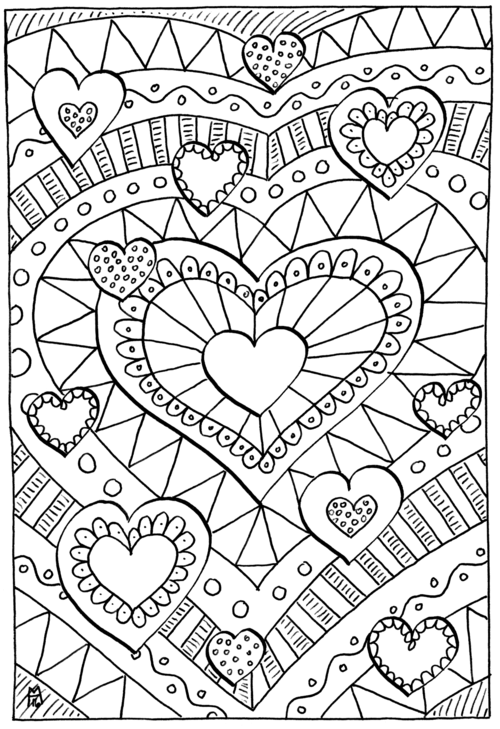 healing hearts coloring page favecraftscom