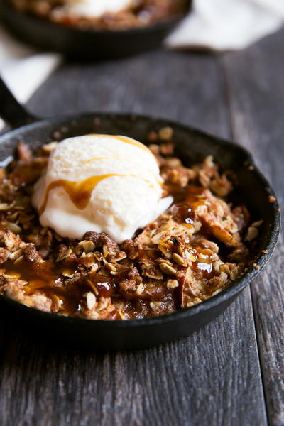Autumn Apple Crisp Recipe for Two