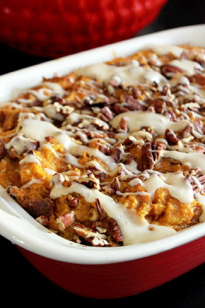 Pumpkin Pie Bread Pudding Recipe