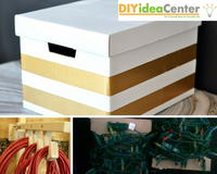 DIY Storage Ideas: How to Store Christmas Decorations
