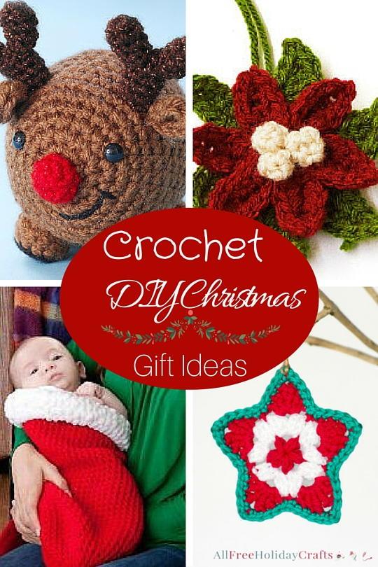 14 Crochet DIY Christmas Gift Ideas | AllFreeHolidayCrafts.com