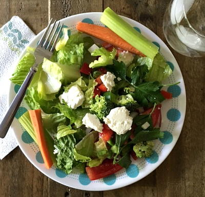 Restaurant Style Greek Salad and Dressing