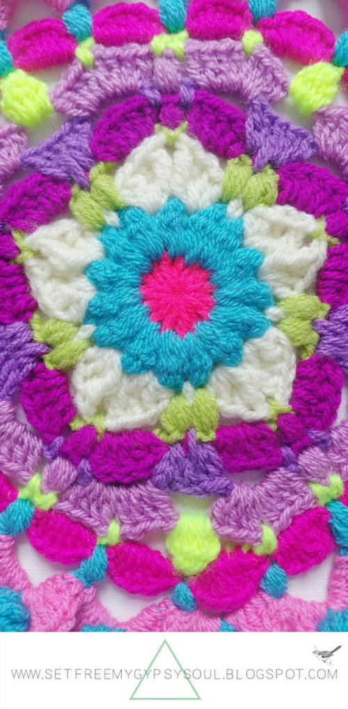 Peggy in Pink Flower Mandala