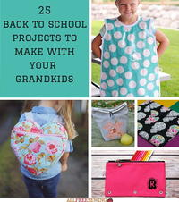 25 Back to School Projects to Make with Your Grandkids